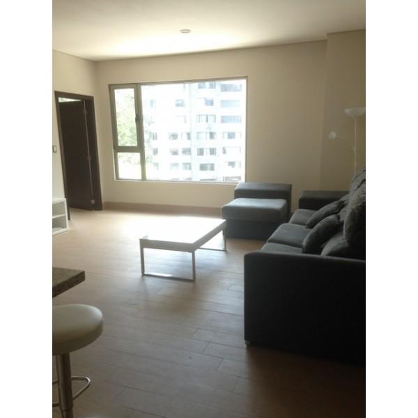 Apartamento Semi- amueblado en Renta Zona 10