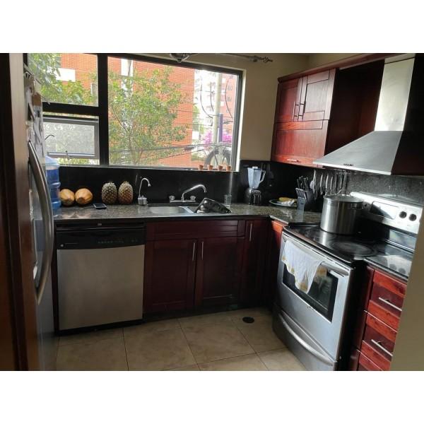 Apartamento amueblado en renta zona 14
