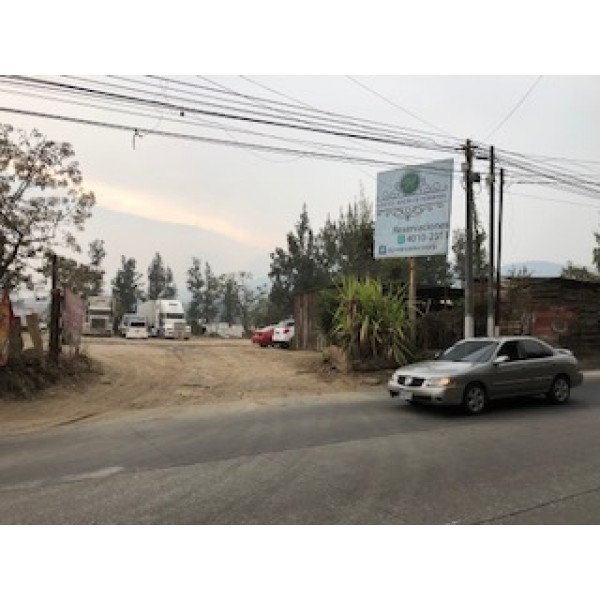 Terreno en renta  zona 7 de Mixco